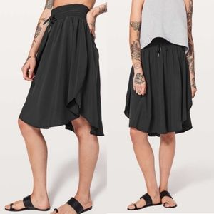 Lululemon The Everyday Skirt - Black